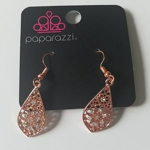 Rose Gold colored Earrings